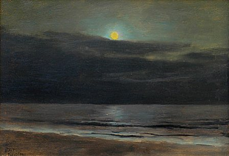Lockwood De Forest moonlight painting